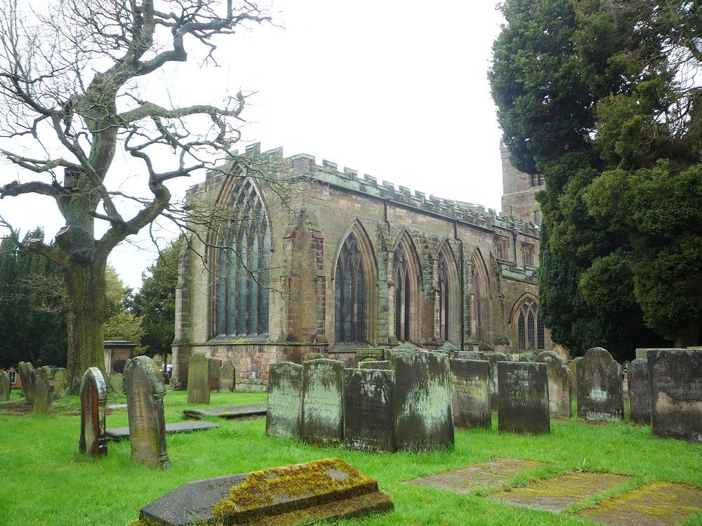St Mary & All Saints Church, Checkley, Staffordshire ~ April 2012