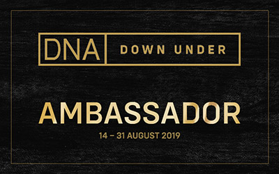 DNA Down Under Ambassador