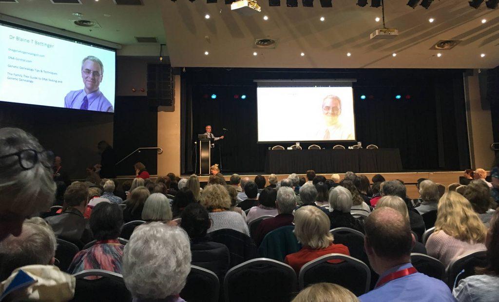 Blaine Bettinger at DNA Down Under in Sydney 2019
