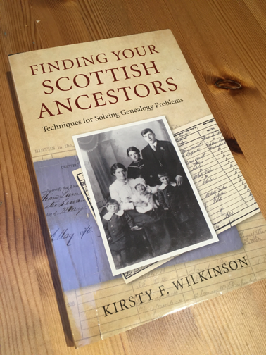 Finding Your Scottish Ancestors - a book by Kirsty F Wilkinson
