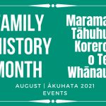 Family History Month Events Calendar